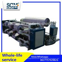 Stoffschneiden und Maschine, PP gewebte Schlitz- und Rückspulmaschine