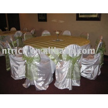 Satin bag chair cover, satin self-tie chair cover,banquet/hotel chair cover