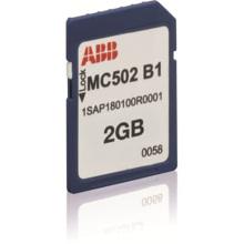 Tarjeta de memoria PLC ABB MC502