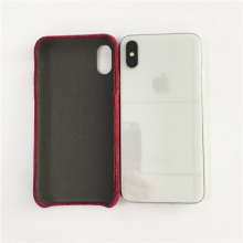 Rouge dur meilleur protection Iphone X