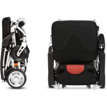 Fauteuil roulant portable avec pile au lithium