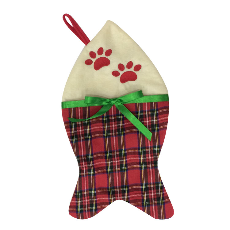 Christmas Pet Stocking Hanging Decorations