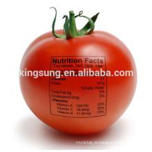 Adhesive bedrucktes Lebensmittel Label Aufkleber für Obst und Gemüse