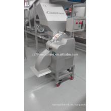 SUS304 arena de acero francés patatas fritas máquina automática de corte de patatas / máquina de cortar cebolla / dicador de patata