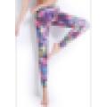 Elegante Abrazando Señoras Sexy Seamless Impreso Legging Y Sujetador Para Las Mujeres