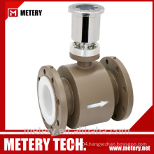 Battery powered digital magnetic flowmeter