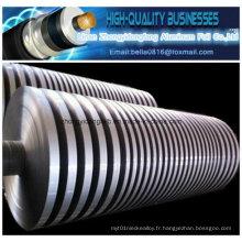 Feuillet en aluminium laminé avec film pour ventilation (climatisation et vapeur)