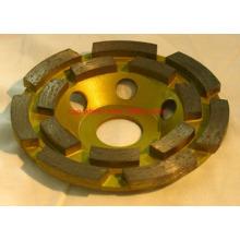 Rueda de la taza del diamante, ruedas de pulido de la taza del diamante de Turbo (SA-071)