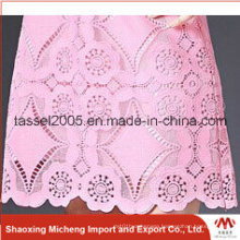 African Hot Selling Voile Lace with Stone 3034