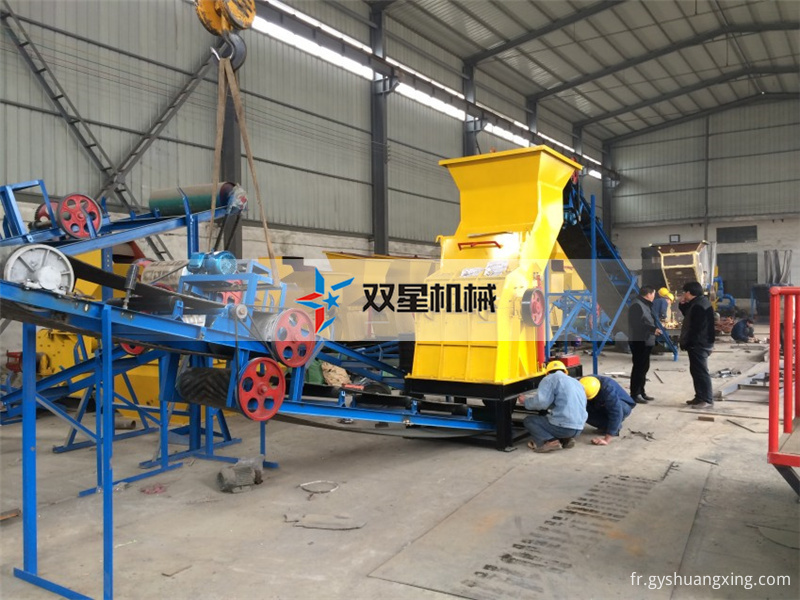 Recycling of renewable resources on the use of metal crusher rational effect