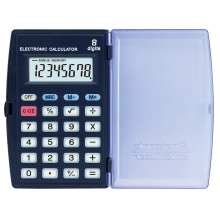 8 Digits Small Size Folding Calculator Button Cell Power Promotion Stationery Gift Pocket Electronic Calculator