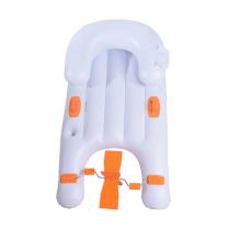 Tumbona de piscina inflable para niños