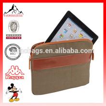 Nueva bolsa de estuche portátil ecológica para tableta, funda de lona para tableta