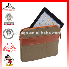 Eco-Friendly New Carrying Case Pouch for Tablet Canvas Sleeve for Tablet