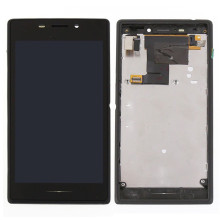 Mobile Phone LCD with Frame Complete for Sony M2