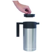 Edelstahl-Doppelwand-Spiegel-Polnisch-Vakuumkaffeetopf