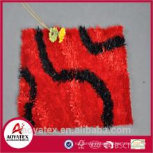 Низкая цена анти-скольжения коврик, красочный длинный меховой коврик, высокое качество коврик