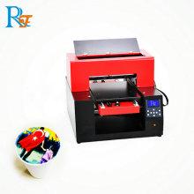 Impresora refinecolor de café ondulado