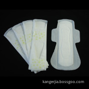 Ultra-thin dayuse 240mm soft cotton sanitary napkin 10pcs in one colorful package