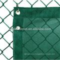 темно-зеленый бурелом конфиденциальности забор из рабицы с UV упорной