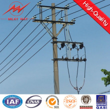 Electricity Transmission Galvanized Steel Pole