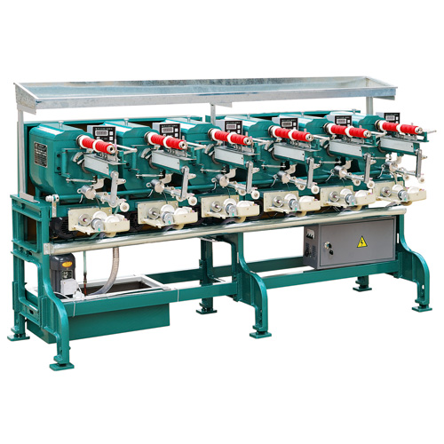 automatic oiling thread winding machine
