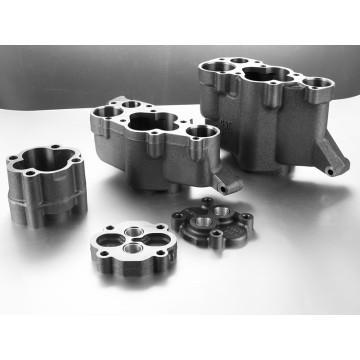 Molde de areia de ferro cinzento personalizado para montagem de bomba de óleo