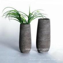 Florero de cerámica de la decoración del hogar del estilo moderno