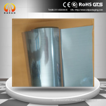PET hairline film silver color