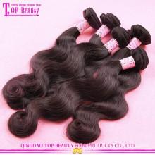 Индии напрямую обеспечиваем человеческие волосы 100% необработанные сырые индийские волосы пучок оптом