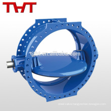 bare stem double flange butterfly valve components
