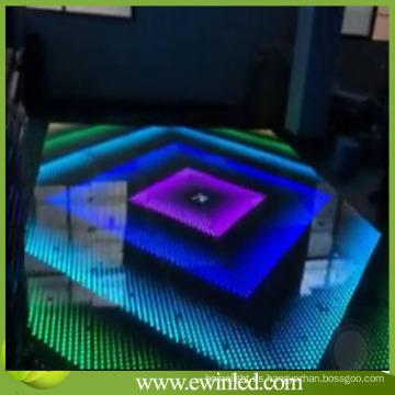 Pista de baile interactiva con control de sonido
