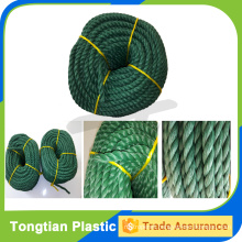 Hot sale twisted recycled pp rope
