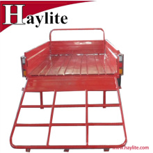 High quality off road used tipping cargo trailer different size for sale
