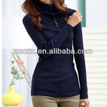 PK17ST217 turtleneck fancy sweater woman slim fit sweater