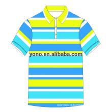 Serviço OEM Polo Shirt Blank T-shirt Atacado