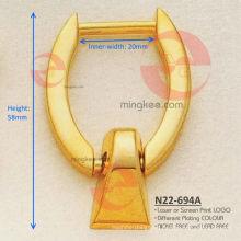 Hebilla de anillo para correa de hombro de bolso / bolso (N22-694A)