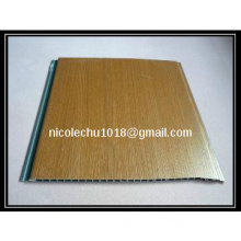 TOP sales wood design lamination pvc wall panel & pvc ceiling panel