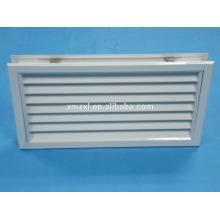 Grade de retorno de ar de alumínio para portas