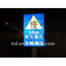 Reflective traffic printing material