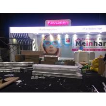 costume modular do equipamento 10x30 da cabine da exposição do suporte da feira profissional de shanghai