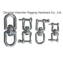 Stainless Steel316 Swivel, Regular Swivel, Hot Galvanized, Jaw Swivel, Chain Swivel Carbon Steel, Galvanized, Ss316/ Ss304 Eye-Eye, Jaw-Jaw