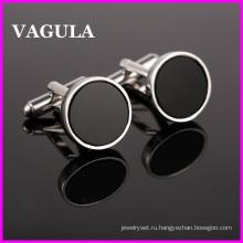 VAGULA качества Оникс Серебряные Запонки (HL10121)