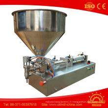 Machine à emballer de bonne qualité de beurre d'arachide de pâte de sésame