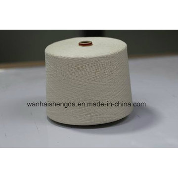 High Quality 80%/20% Raw White Cotton/Linen Blended Yarn
