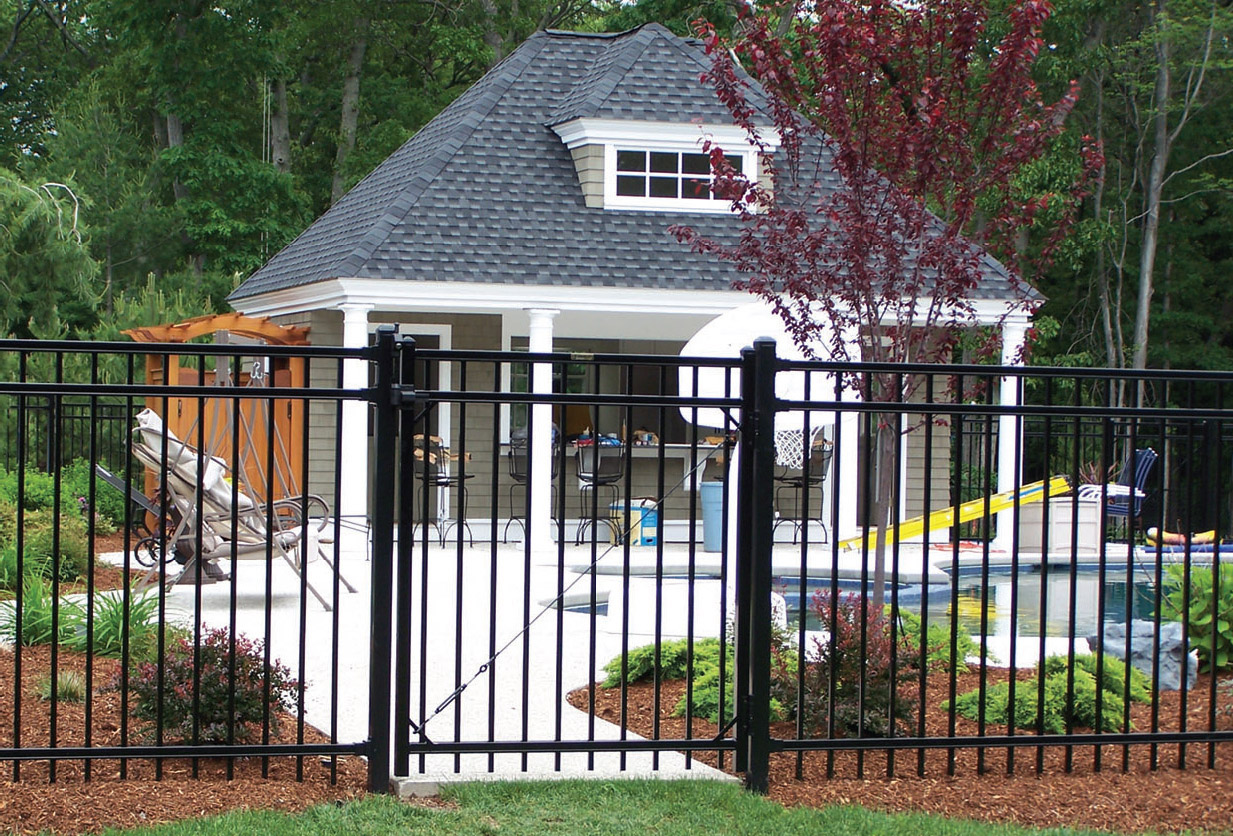 ornamental fencing gate