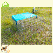 Popular barbed wire rabbit fence with cover