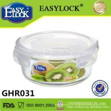 микроволновых печей широкого рта стеклянный опарник хранения коробка герметичная