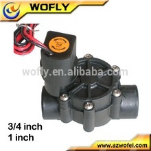 Válvula solenóide de água elétrica de trava de 12V DC