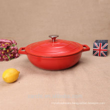 hot sale product cast iron small size kitchen soup pot
